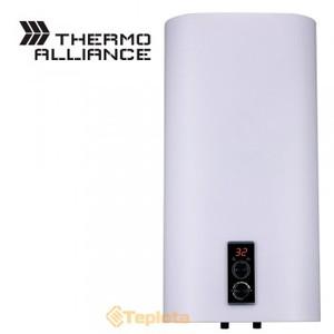 Электрический водонагреватель плоский Thermo Alliance верт. 80 л